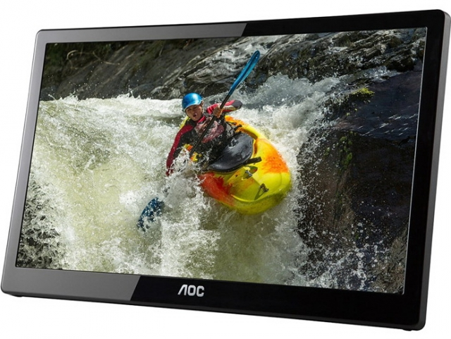 AOC выпустила портативный 15.6-дюймовый USB-монитор E1659FWUX-Pro